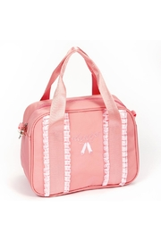 Dasha Ribbon Duffel Bag(pink) - Product Mini Image