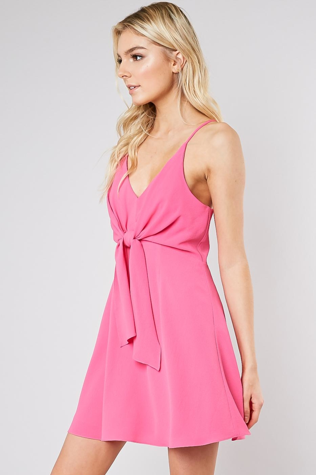 Do & Be Ribbon Front Dress - Front Full Image