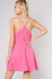 Do & Be Ribbon Front Dress - Side cropped