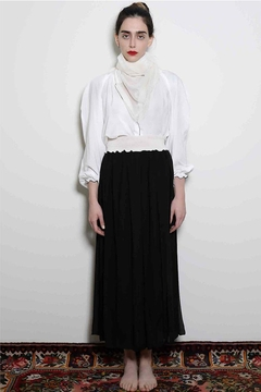 Levinia Konyalian Ribbon Maxi Skirt - Alternate List Image