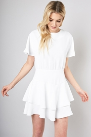Do & Be Ribbon Tie Dress - Front cropped