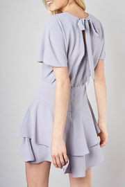 Do & Be Ribbon tie fit and flare dress - Front cropped