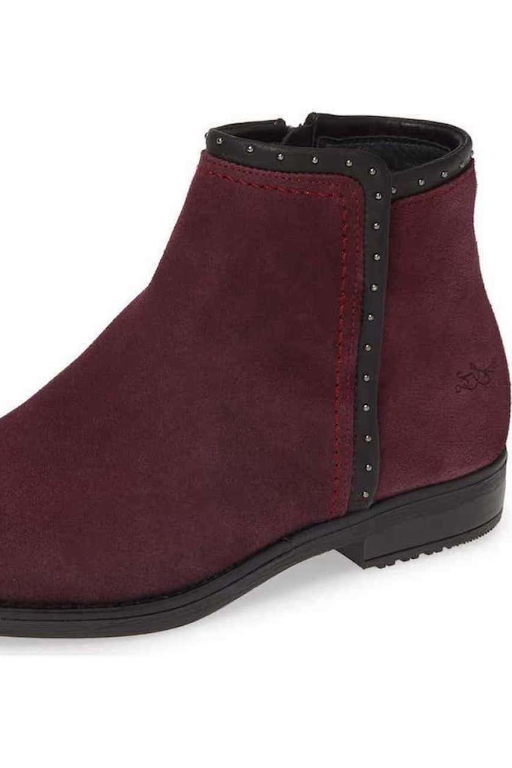 Fly London Ribos Suede Bootie - Back Cropped Image