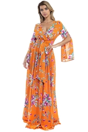 Ricarica Flower Print Maxi Dress - Product Mini Image