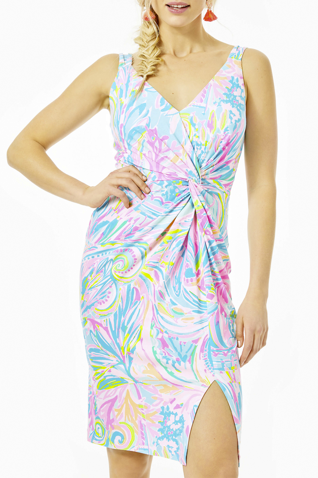 Lilly Pulitzer  Ricci Dress - Front Cropped Image