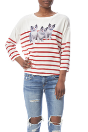 RICE Meow Stripes Top - Product Mini Image