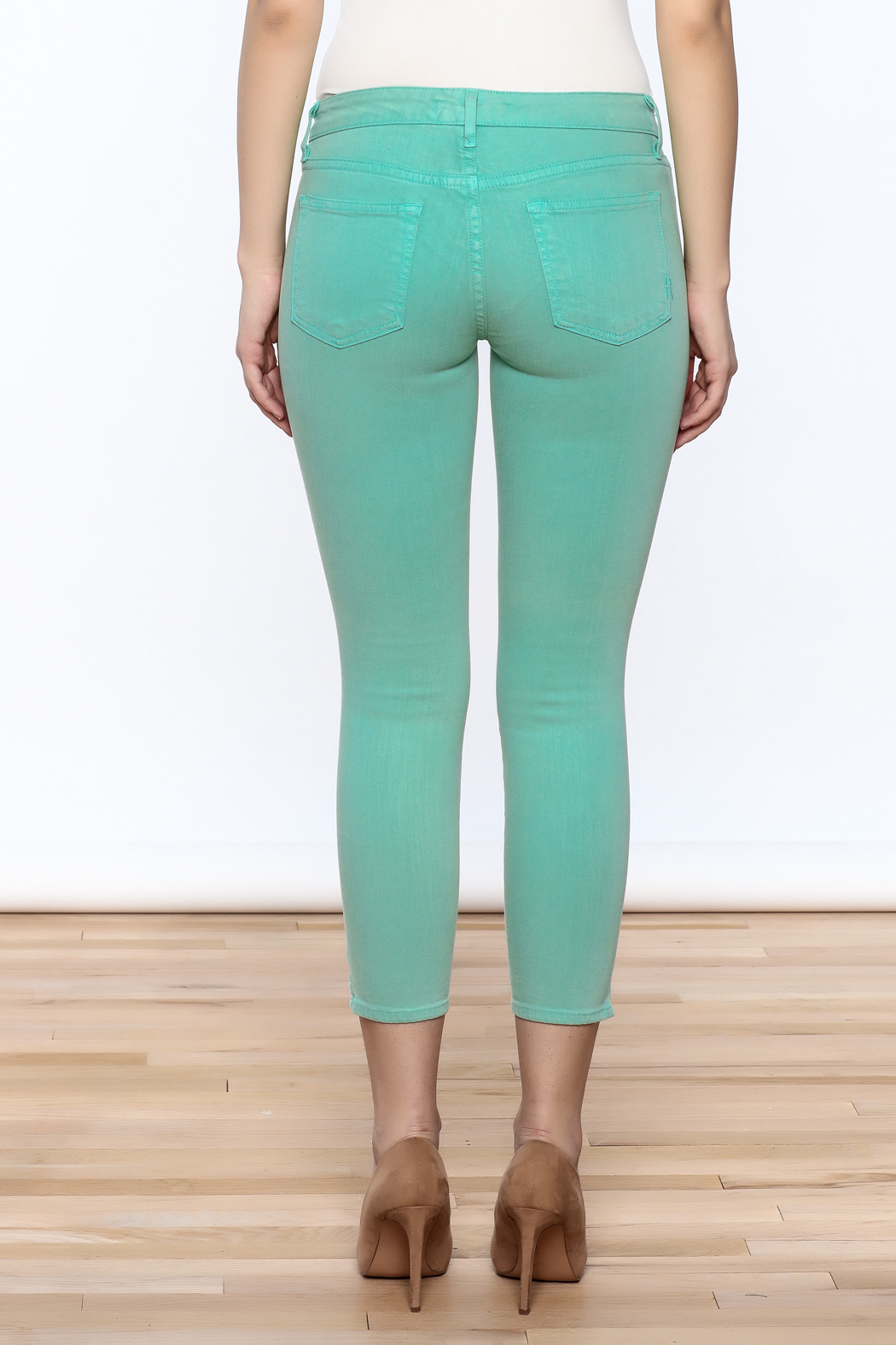 Rich & Skinny Coronado Cropped Jeans - Back Cropped Image