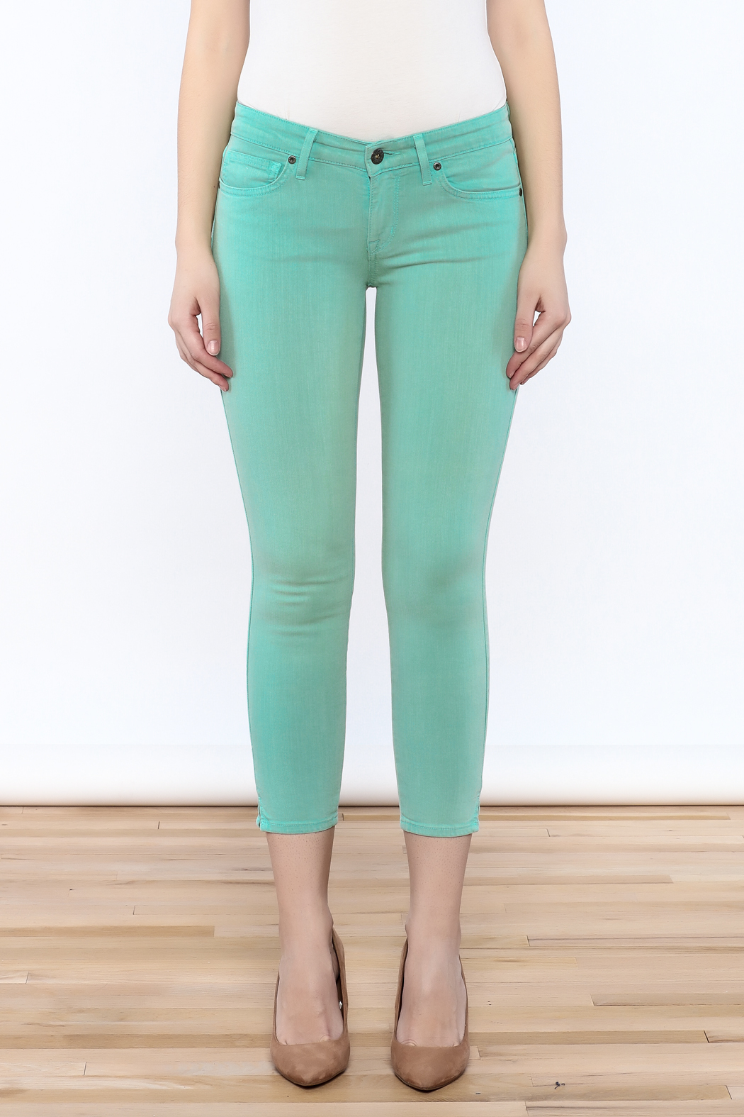 Rich & Skinny Coronado Cropped Jeans - Side Cropped Image