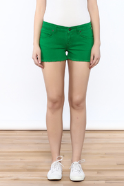 Rich & Skinny Green Venice Shorts - Side cropped