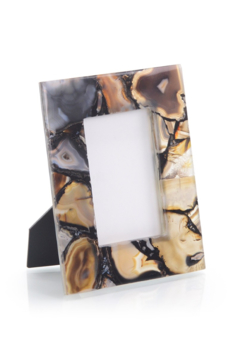 The Birds Nest RICH BROWNS TO CLEAR AGATE FRAME - Alternate List Image