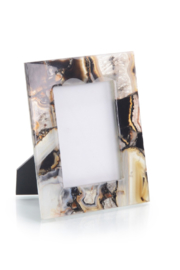 The Birds Nest RICH BROWNS TO CLEAR AGATE FRAME - Product Mini Image