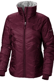 Columbia Sportswear Rich-Wine Kaleidaslope Jacket - Product Mini Image