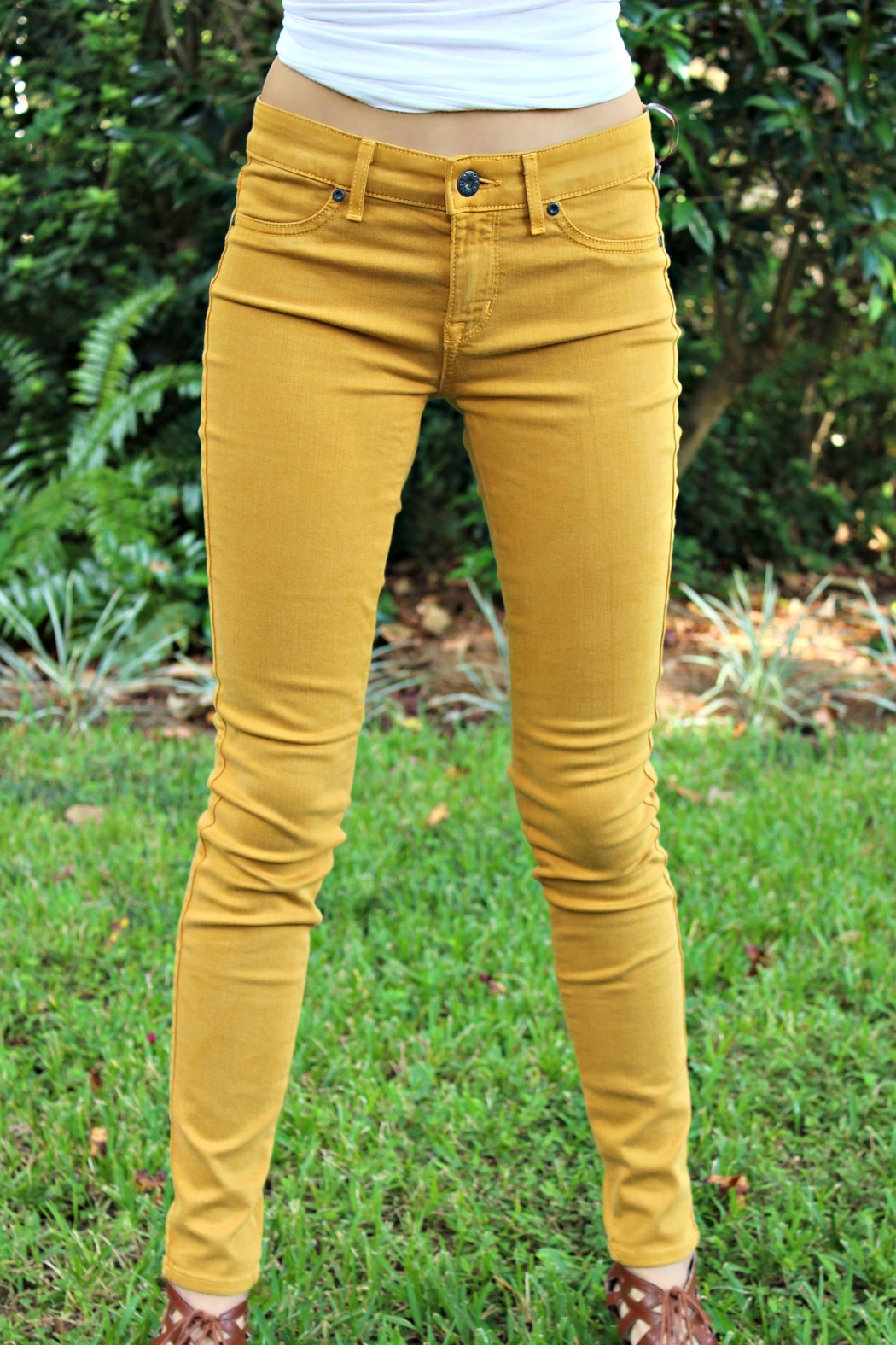 Rich & Skinny Gold Rich&Skinny Jeggings - Main Image