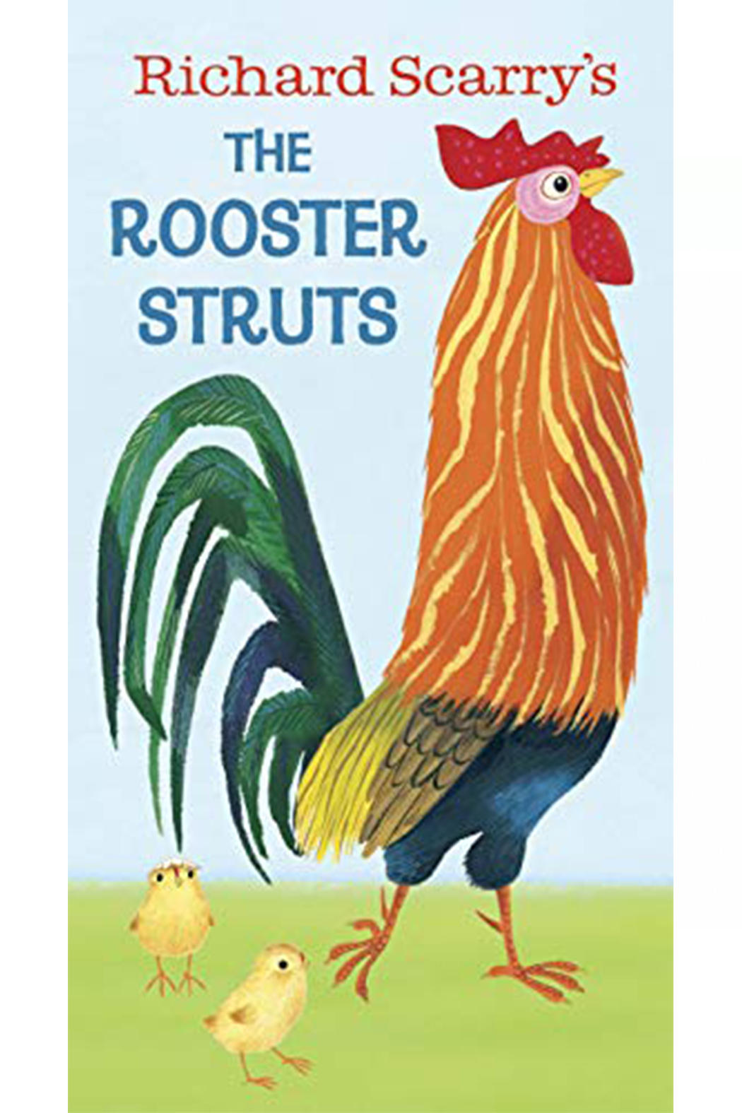 Penguin Books Richard Scarry's The Rooster Struts - Main Image