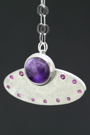 Richi Atelier Amethyst Silver Pendant - Product Mini Image