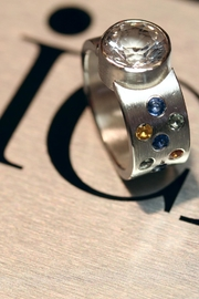 Richi Atelier Danburite Sapphires Ring - Product Mini Image
