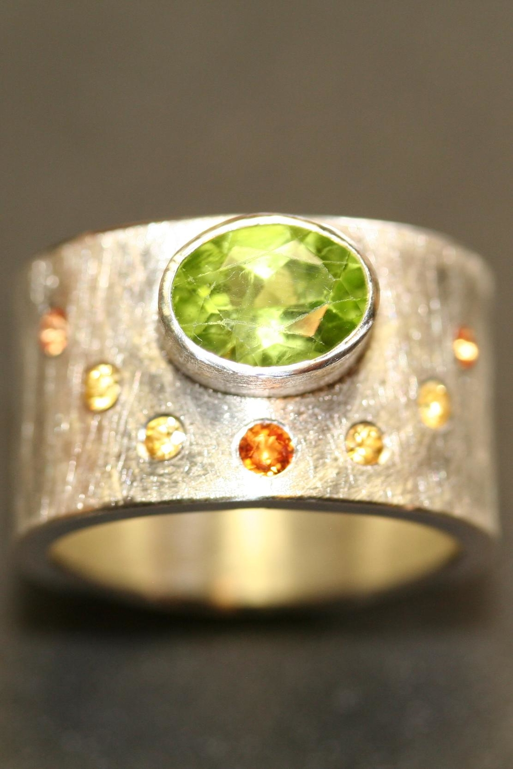 Richi Atelier Wide Band Ring - Front Full Image