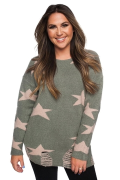 Shoptiques Product: Ricki Star Sweater