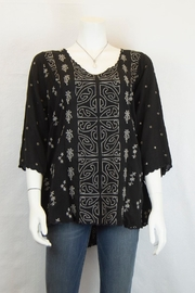 Johnny Was Collection Ridden Blouse - Product Mini Image