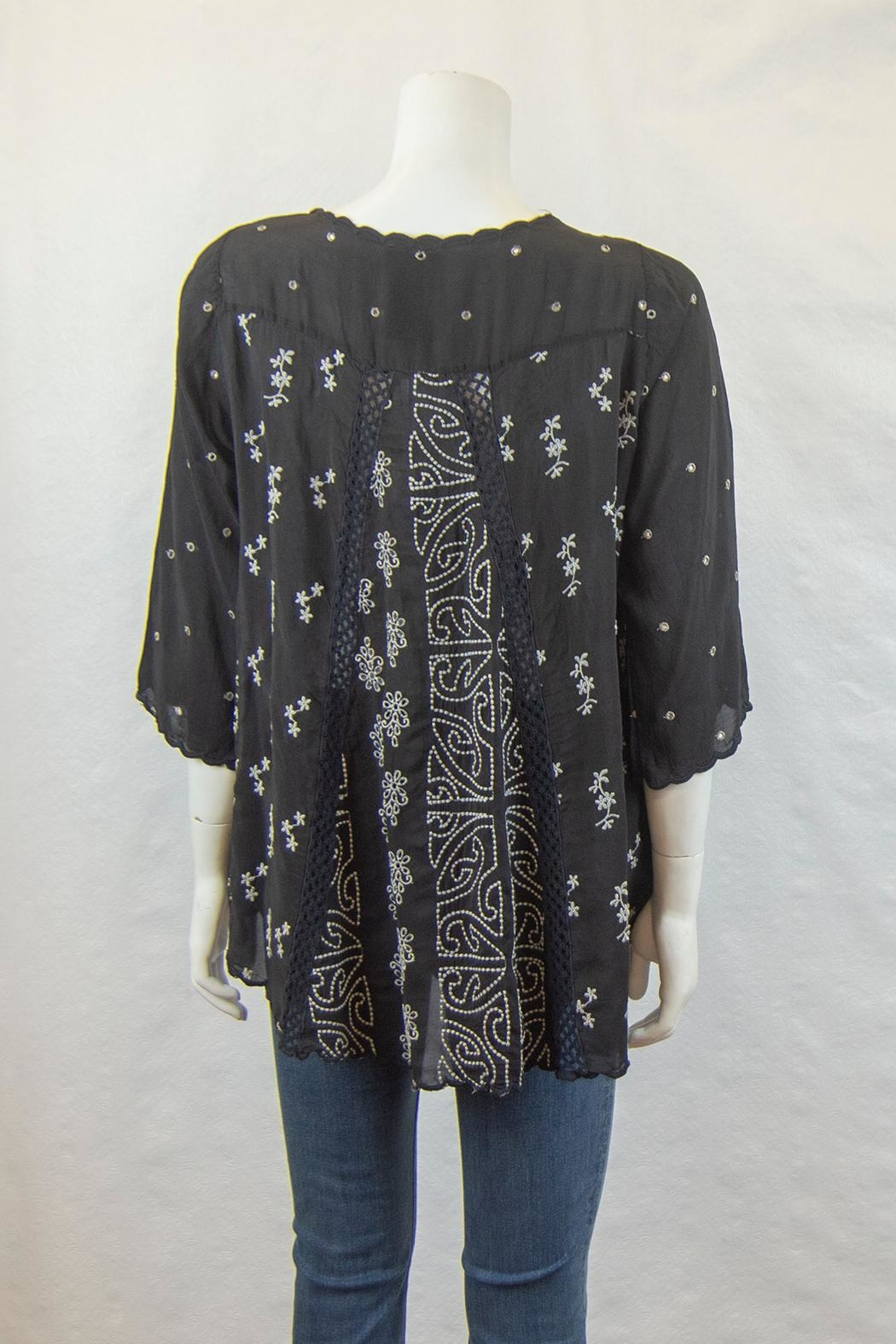 Johnny Was Collection Ridden Blouse - Front Full Image