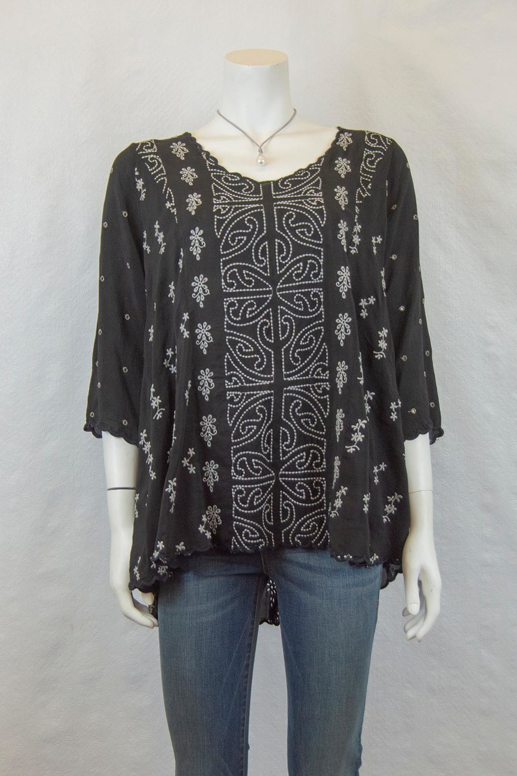 Johnny Was Collection Ridden Blouse - Main Image