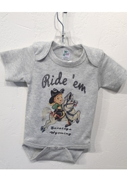 Hank's Bunkhouse Ride Em Onesie - Front cropped