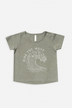 Shoptiques Product: Ride The Wave Basic Tee