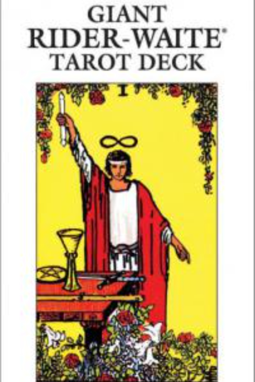 New Leaf Distributing Rider Waite Tarot Deck -Large - Front Cropped Image
