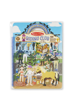 Melissa and Doug Riding Club Puffy Sticker Activity Book - Product List Image