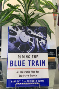 Bart Sayle and Surinder Kumar Riding the Blue Train - Product List Image