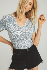 z supply Ridley Animal Tee - Front cropped