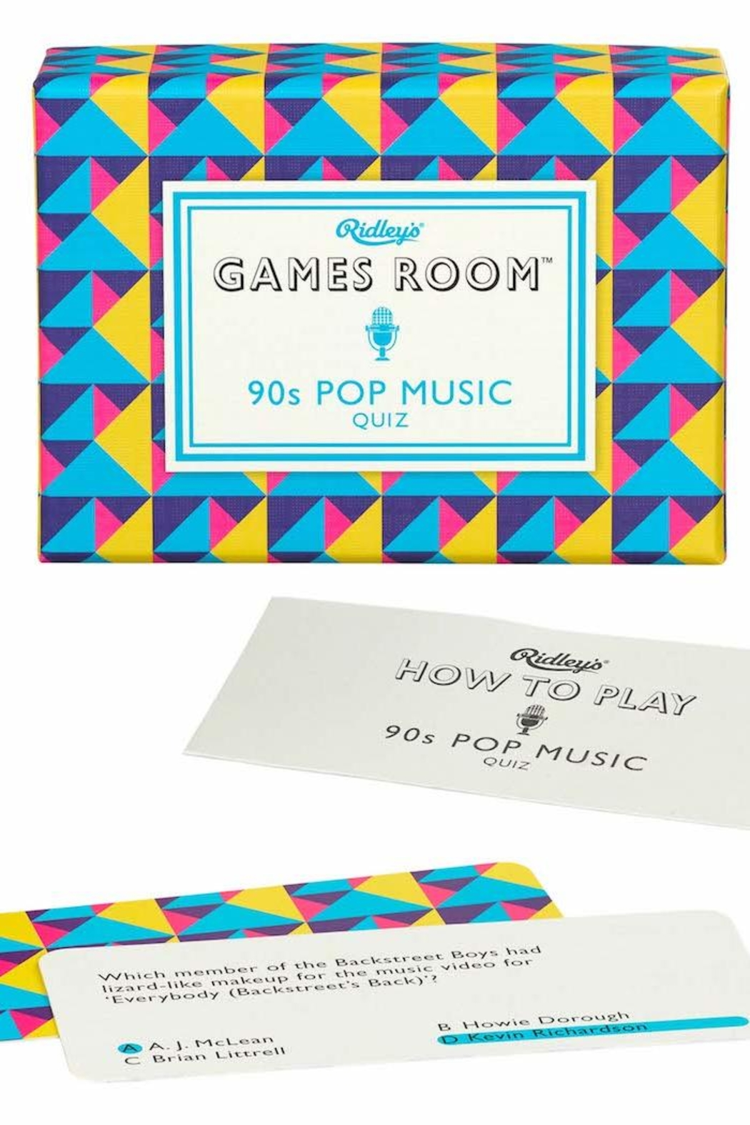 Ridley's Games Room 90s Pop Music - Front Cropped Image