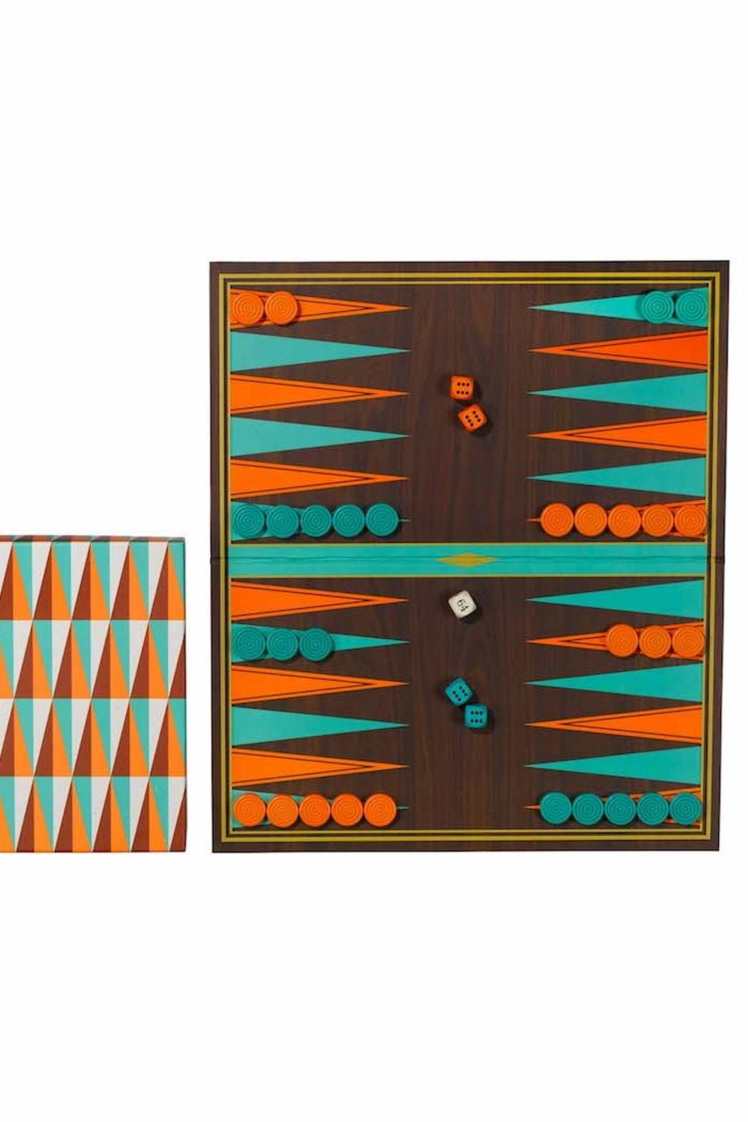 Ridley's Games Room Backgammon - Front Full Image