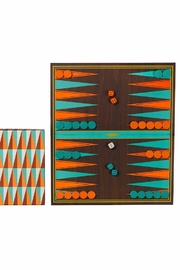Ridley's Games Room Backgammon - Front full body