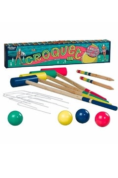 Shoptiques Product: Colorful Croquet Set