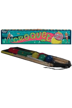 Ridley's Games Room Colorful Croquet Set - Alternate List Image