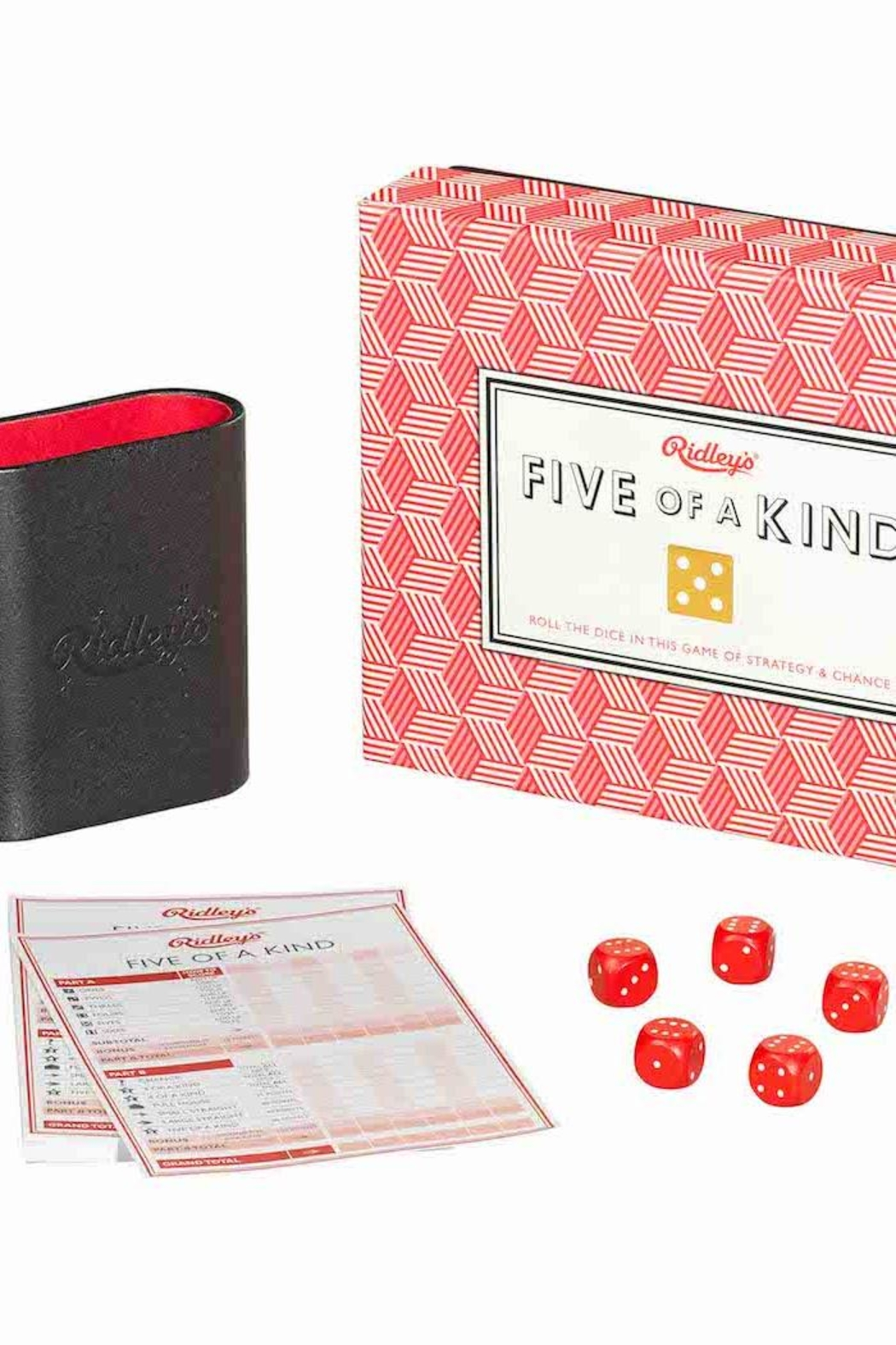 Ridley's Games Room Dice Game - Front Full Image