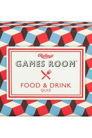 Ridley's Games Room Food/drink Quiz - Product Mini Image