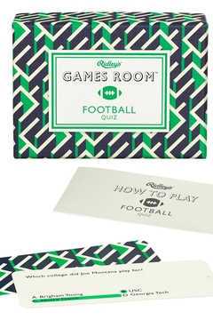 Ridley's Games Room Football Quiz - Product List Image