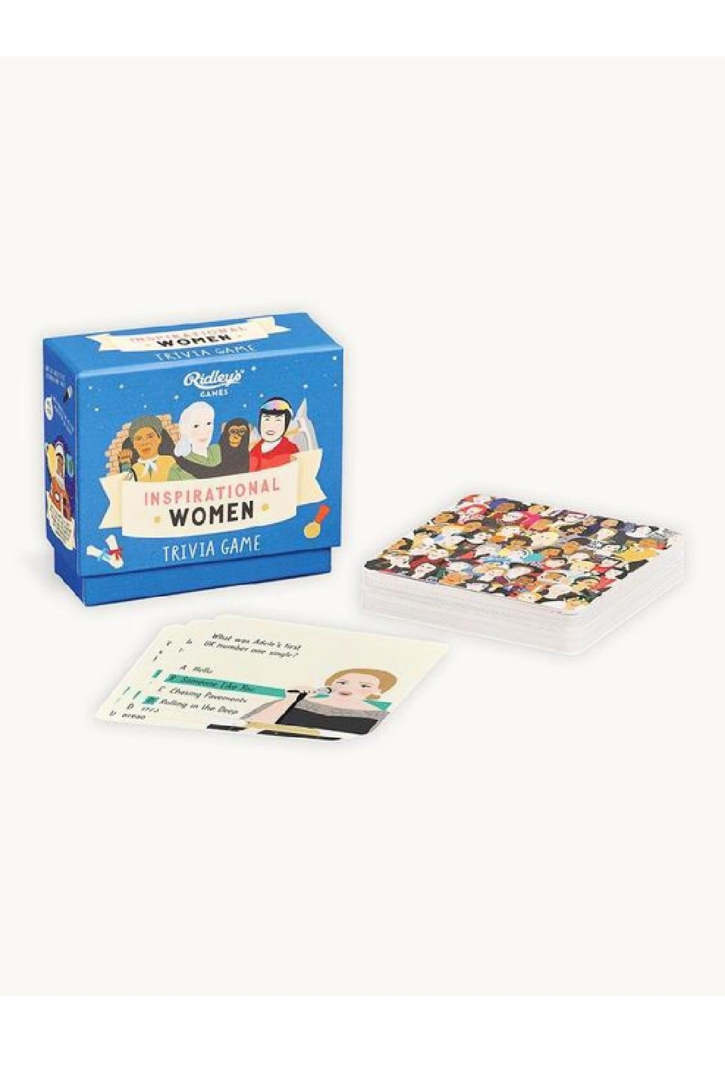 Ridley's Games Room Inspirational Women Trivia Game - Main Image