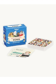 Ridley's Games Room Inspirational Women Trivia Game - Front cropped