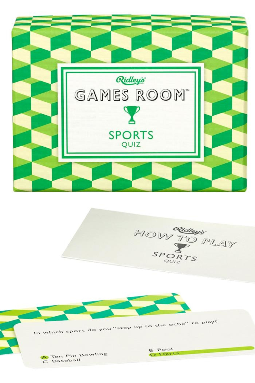 Ridley's Games Room Sports Quiz - Main Image