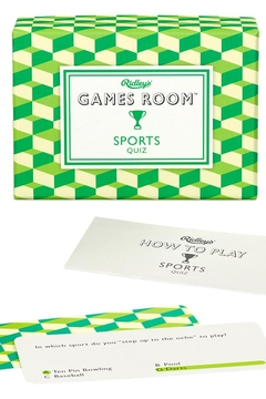 Ridley's Games Room Sports Quiz - Product List Image