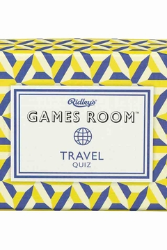 Ridley's Games Room Travel Quiz - Product List Image