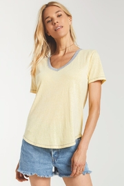 z supply Ridley Triblend Tee - Front cropped