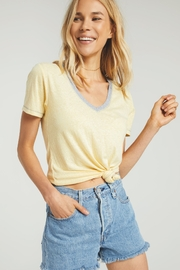z supply Ridley Triblend Tee - Back cropped