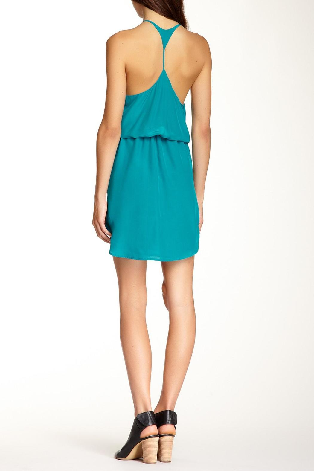 Rieley Sleeveless Racerback Dress - Front Full Image