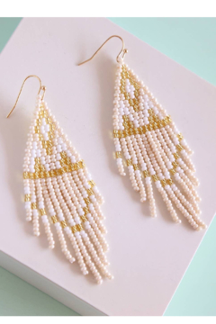 Fosterie  Riesling Beaded Earrings - Product List Image