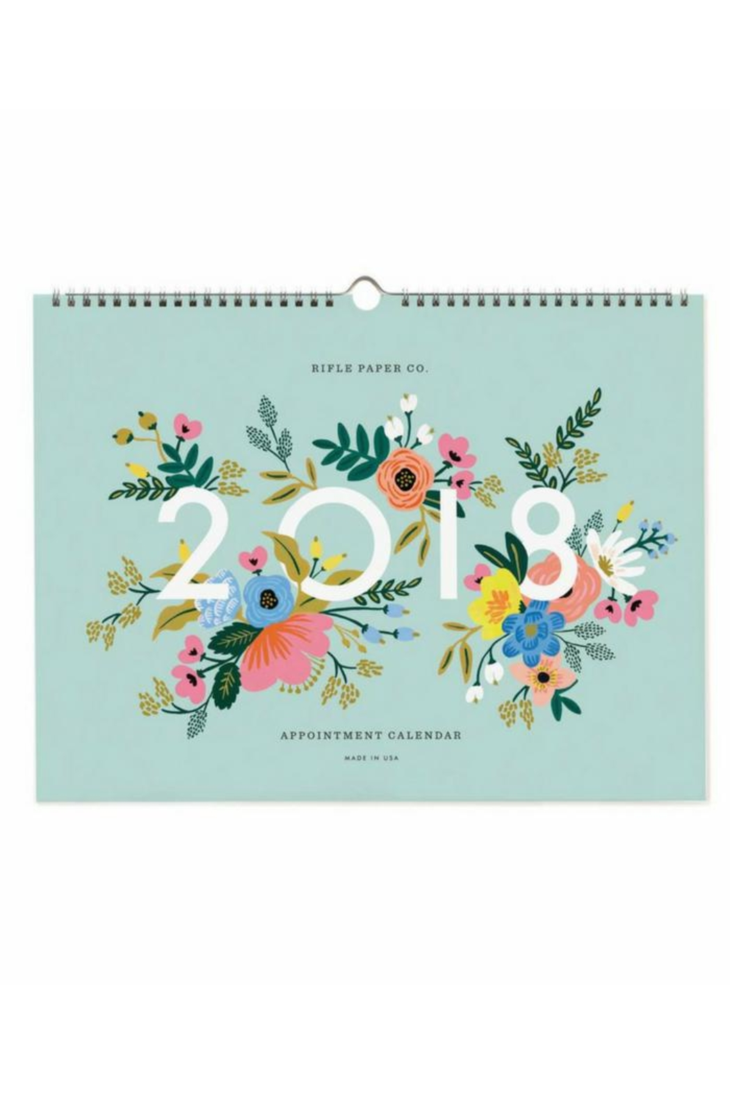 Rifle Paper Co.  2018 Appointment Calendar - Main Image