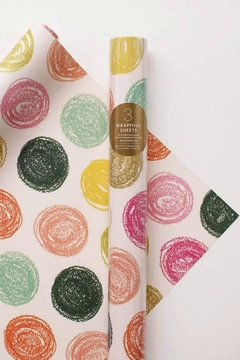 Rifle Paper Co.  Dot Wrapping Sheets - Alternate List Image